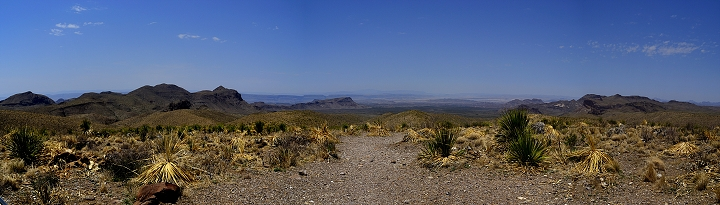 Big Bend National Park - Sotol Vista