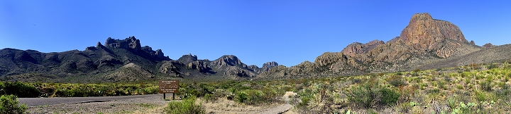 Big Bend National Park - Chisos Mountains
